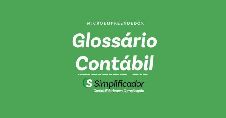 Glossário Contábil